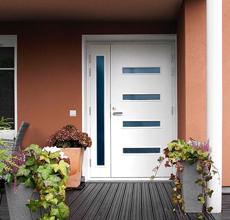 Pose de porte d'entrée près de Tourcoing et Halluin